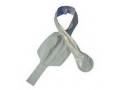 """Image Of Assura 2-Piece Cut-to-Fit High Output Ileo Night Drainable Pouch 9/16"""" - 2"""""""