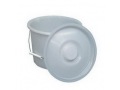 Image Of 12 Quart Pail with Lid And Wire Handles