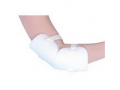Image Of Heel/Elbow Protector with Two Straps, One Size Fits Most, White
