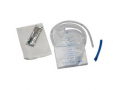 Image Of Flatus Bag with Rectal Tube Pre-lubricated Tip and Harris Flush Tube 24 fr x 19""