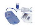 Image Of CURITY Dover Vinyl Closed Urethral Catheter Tray 14 Fr 1500 mL