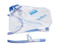 Image Of Kenguard Dover Urinary Drainage Bag with Anti-Reflux Chamber and Hook and Loop Hanger 2,000 mL