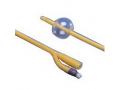 "Image Of Kenguard 2-Way Silicone-Coated Foley Catheter 24 Fr 16"" L, 30cc Balloon Capacity"