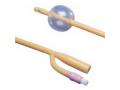 Image Of Dover 2-Way Silicone-Elastomer Foley Catheter 14 Fr 30 cc