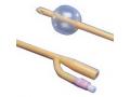 Image Of Dover 2-Way Silicone-Elastomer Foley Catheter 24 Fr 30 cc