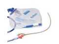 Image Of 100% Silicone 2-Way Closed Foley Catheter Tray 18 Fr 5 cc
