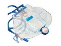 Image Of Curity Bedside Drainage Bag with Anti-Reflux Chamber, Splashguard II; Drain Spout 2000mL