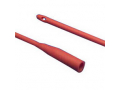 """Image Of Dover Hydrophilic Coated Red Rubber Urethral Catheter 18 Fr 12"""""""
