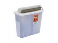 Image Of In-Room Sharps Container with Mailbox-Style Lid 2 Quart