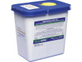 Image Of PharmaSafety Sharps Disposal Gasket Container 2-Gallon