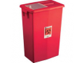 Image Of SharpSafety Large Volume Containers Sliding Lid 18 Gallon