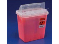 Image Of 2 Gallon General/Ancillary Container,Solid Red,H Drop