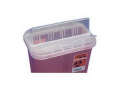 Image Of Ancillary Horizontal Drop Container with Opening Lid 2 Gallon