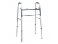 Image Of ProBasics Economy Two-Button Steel Walker without Wheels, Adult, REPLACES ZCH1050