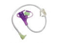 """Image Of Mini ONE Hybrid Continuous Feeding Set 12"""" Purple Enfit Adapter"""