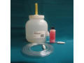 Image Of Night Drainage Container with Tubing 1/2 Gallon