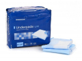 Image Of Underpad McKesson Lite 23 X 24 Inch Disposable Fluff / Polymer Light Absorbency