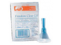 Image Of Freedom Clear Long Seal Self-Adhering Male External Catheter, 35 mm