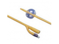 Image Of Cysto-Care Folysil Coude 2-Way Silicone Foley Catheter 14 Fr 10 cc