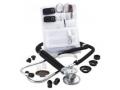 Image Of Adscope Sprague Stethoscope with Accessory Pack, Black REPLACES ZR0130BLK