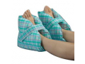 "Image Of Heel Pillows 10"" L x 9"" H Pastel Plaid Washable and Comfortable With Velcro Fastener"