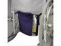 Image Of Wheelchair Urine Drainage Bag Holder/Cover, Canvas with Vinyl Window