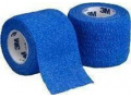 "Image Of Coban Self-adherent Wrap, Blue, 2"" X 5 Yard Roll"