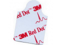 """Image Of Red Dot Resting Electrode-Tab Style, 1-3/4"""" x 7/8"""""""