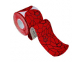 "Image Of Theraband Kinesiology Tape, Pre-cut Roll, Red/Black, 2"" x 16.4"""