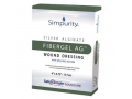 "Image Of Simpurity Fibergel AG Wound Dressing, 4"" x 4.75"""