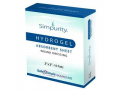 "Image Of Simpurity Hydrogel Dressing with Adhesive Border, 2"" x 2"""