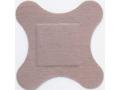 Image Of Adhesive Strip Flex-Band 3 X 3 Inch Fabric Heel / Elbow Tan Sterile