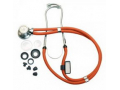 Image Of Sprague-Rappaport Type Stethoscope with Accessory Pack, Neon Orange