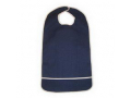 "Image Of Adult Terry Bib Crumb Catcher, Plastic Back, 16"" x 24"""
