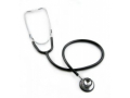 Image Of Classic Stethoscope McKesson Black 1-Tube 22 Inch Tube Double Sided Chestpiece