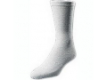 Image Of European Comfort Diabetic Sock Large, White