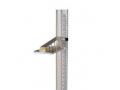 Image Of Height Rod Health O Meter Wall Mount Lightweight For use as a wall mounted height rod