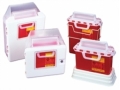 Image Of CONTAINER, SHARPS, 2 GAL, RED, FUNNEL TOP