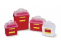 Image Of CONTAINER, SHARPS, 14QT, CLEAR TOP, NESTABLE