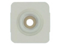 "Image Of Securi-T USA Standard Wear Convex Wafer White Tape Collar Cut-to-Fit (4-1/4"" x 4-1/4"")"