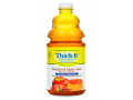 Image Of Thickened Beverage Thick-It AquaCareH2O 64 oz Bottle Apple Flavor Ready to Use Honey Consistency