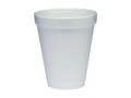 Image Of Drinking Cup Dart 10 oz White Styrofoam Disposable