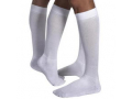Image Of JOBST ActiveWear Knee-High Firm Compression Socks Large, White