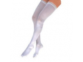 Image Of Anti-EM/GP Knee-High Seamless Anti-Embolism Elastic Stockings X-Large, White