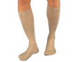 Image Of Relief Knee-High Firm Compression Stockings Medium, Silky Beige