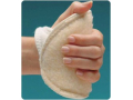 Image Of Palm Protector Rolyan Foam Fabric Left Hand Beige