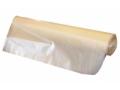 Image Of Trash Bag Colonial Bag Extra Heavy Duty 60 gal Clear HDPE 17 Mic 38 X 58 Inch X-Seal Bottom Twist Tie Coreless Roll