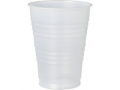 Image Of Drinking Cup Galaxy 12 oz Translucent Plastic Disposable