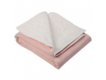 Image Of Underpad with Tuckable Flaps Birdseye 34 X 36 Inch Reusable Polyester / Rayon Heavy Absorbency