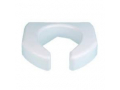Image Of Raised Toilet Seat Ableware Basic 3 Inch White 350 lbs